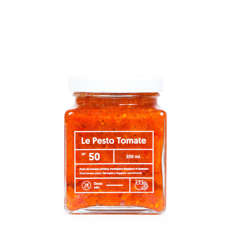 LE LUNCH BOX WEBSITE ECOMMERCE PESTO TOMATE MONOLITH