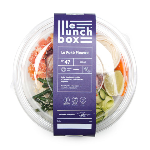 LE LUNCH BOX WEBSITE ECOMMERCE POKE PIEUVRE MONOLITH
