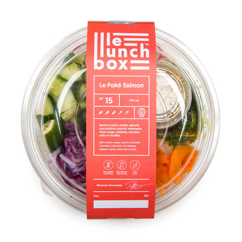 LE LUNCH BOX WEBSITE ECOMMERCE POKE SAUMON MONOLITH