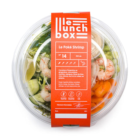 LE LUNCH BOX WEBSITE ECOMMERCE POKE SHRIMP MONOLITH