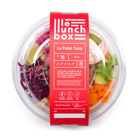 LE LUNCH BOX WEBSITE ECOMMERCE POKE TUNA MONOLITH