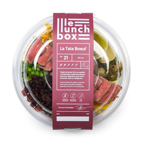 LE LUNCH BOX WEBSITE ECOMMERCE TATA BOEUF MONOLITH