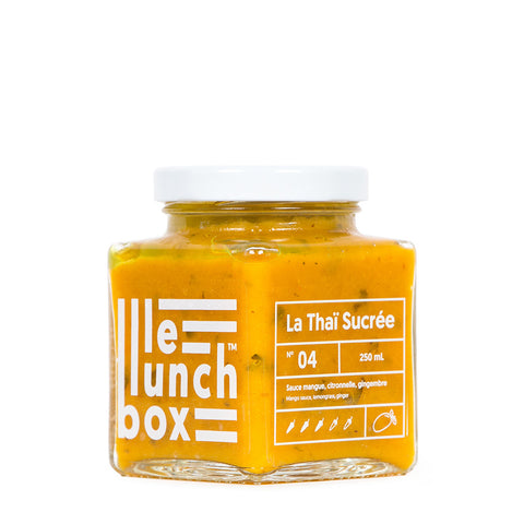 LE LUNCH BOX WEBSITE ECOMMERCE THAI SUCRÉE SAUCE MANGUE MONOLITH