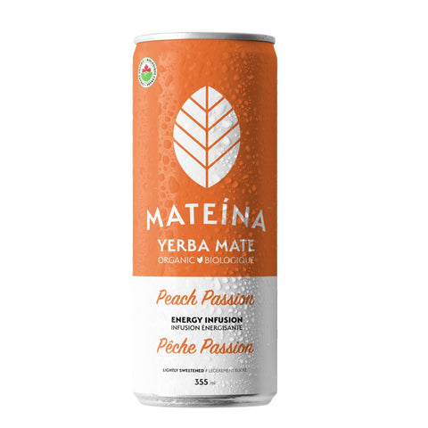 Mateina - Pêche Passion - Infusion énergisante
