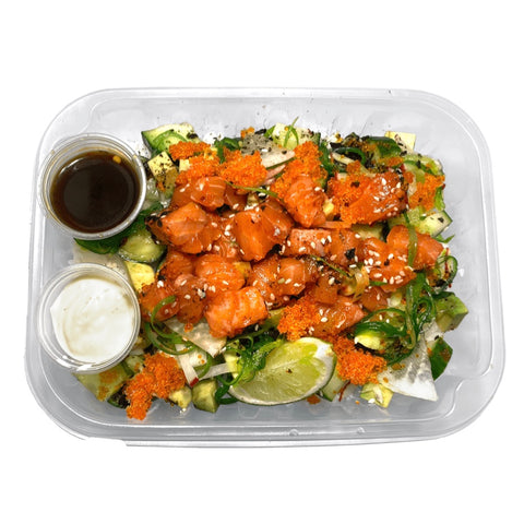 Le Saumon Honolulu (Poke)