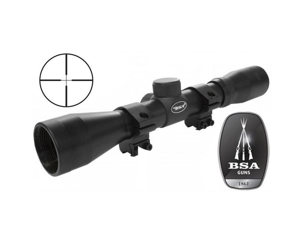 BSA .22 Special 4x32 Scope: Includes Rings