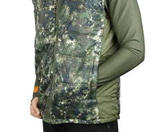 Tecl-Wood Camo Puffer Vest *Choose Size*