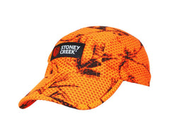 Stoney Creek AirMESH Peaked Cap Blaze