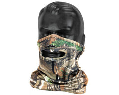 Stretch Fit Forest Camo Half Mask