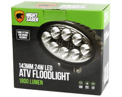 Night Saber 143mm 24W LED ATV Floodlight