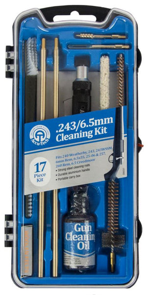 Accu-Tech Rifle Cleaning Kit 17 Piece .243