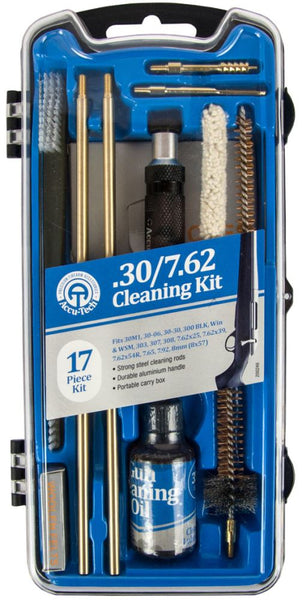 Accu-Tech Rifle Cleaning Kit 17 Piece .30 Cal