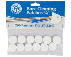 Accu-Tech Bore Cleaning Patches 17 - 22 Cal