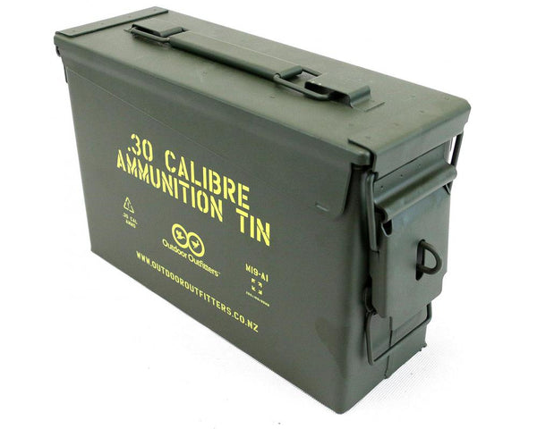 Lockable .30 Cal Ammo Tin