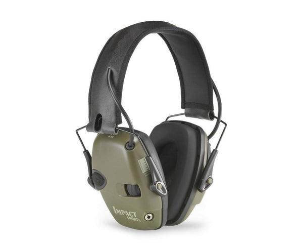Howard Leight Impact Sport Earmuffs: Green