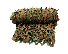 Camo Net Woodland Bulk - CHOOSE SIZE