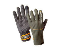 Hunters Element Legacy Gloves: Grey/Green