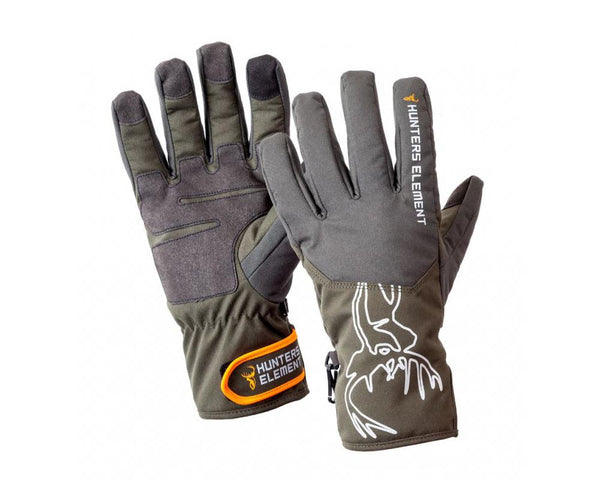 Hunters Element Blizzard Gloves: Green/Grey