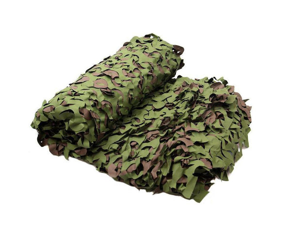 Game On Woodland Camo Net: 6 x 2.4m