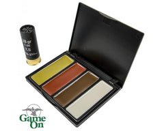 Game On Camo Face Paint: 4-Colours