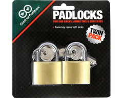 Outdoor Outfitters Padlock Twin Pack