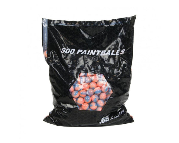 Empire Marballizer .68 Cal Paintballs: Blue/Pink Fill