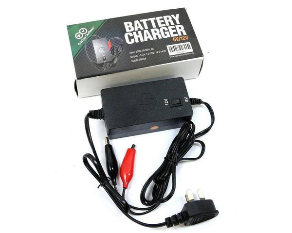 Outdoor Outfitters 6V-12V Multi Battery Charger