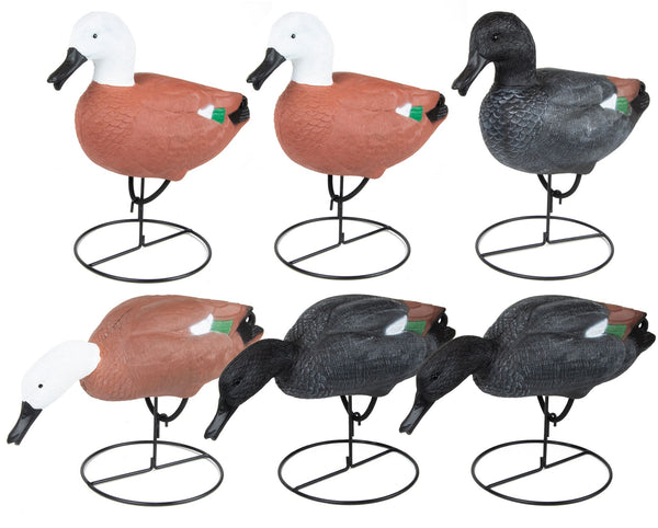 Game On Full Body Paradise Field Decoy Family: 6-Pack