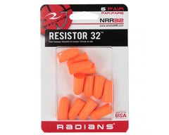 Radians Foam Plugs 6 Pair Pack