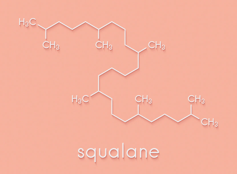 Chemical formula for squalane contained in moisturising Skin Drink by SLMD Skincare
