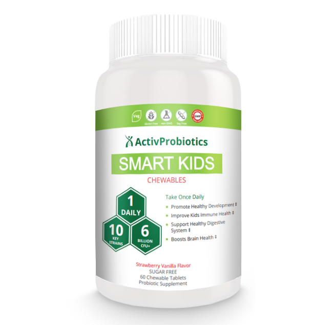 SMART KIDS Chewable Probiotics