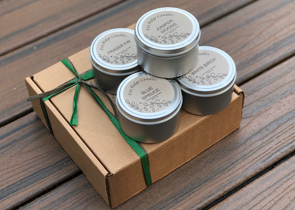 Woodsy Candle Gift Set