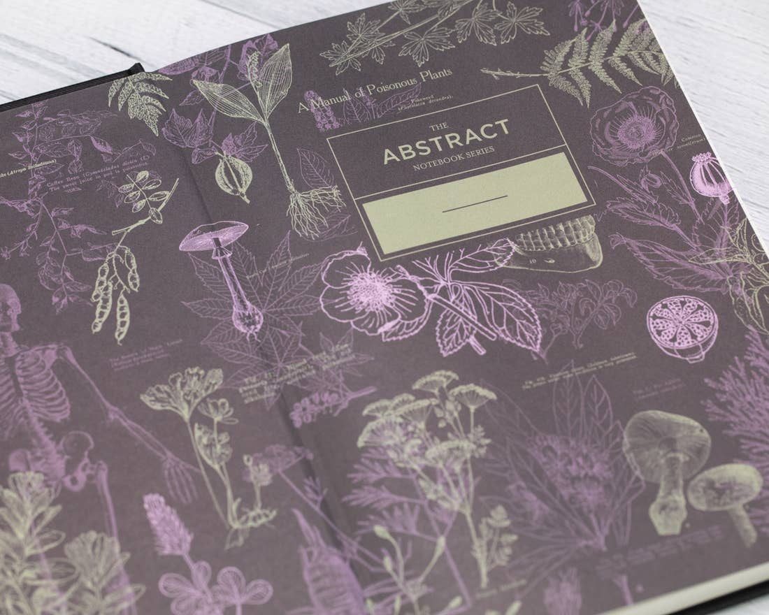 Poisonous Plants Hardcover Journal, HDG84