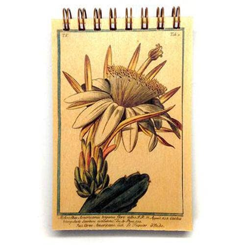 Wooden Desert Flower Notepad, HDG94