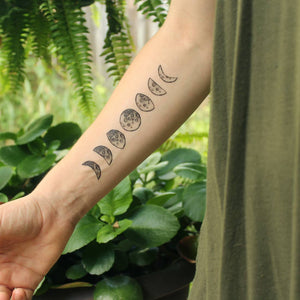 Moon Phases Tattoo, CAG37