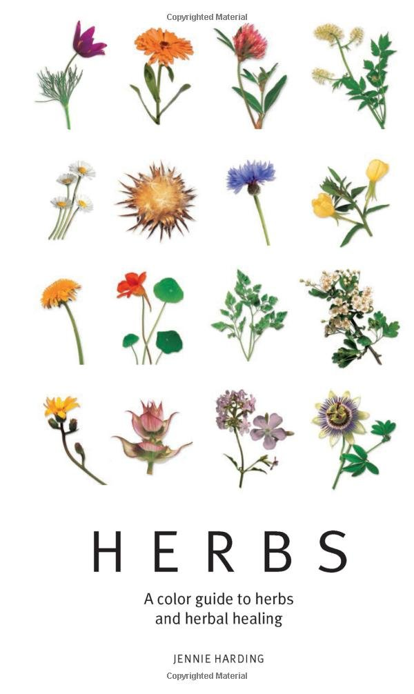 A Color Guide to Herbs and Herbal Healing, HDG107