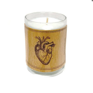 Anatomical Heart Votive Candle, HDG91