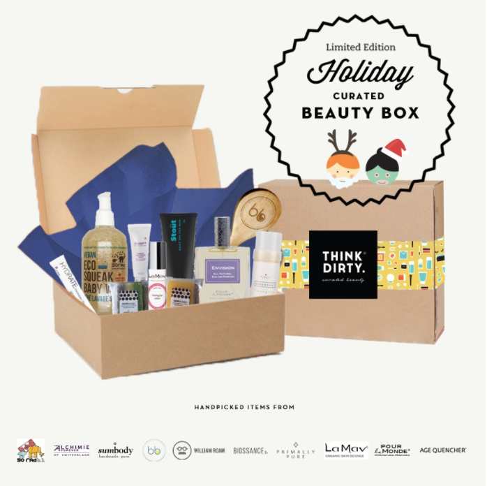 Think Dirty Holiday Limited Edition Beauty Box