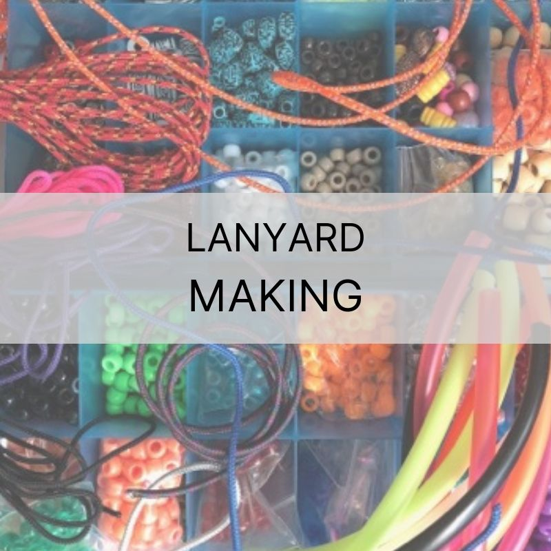 August 14th | Lanyard Making Class