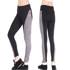 Women Black and Gray Yoga Pants