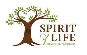 Spirit of Life Pet Memorial Products. Dog and Cat urns, cremation jewelry, and paw print kits.
