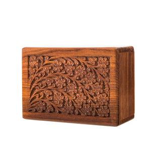 Tree of Life Wood Urn