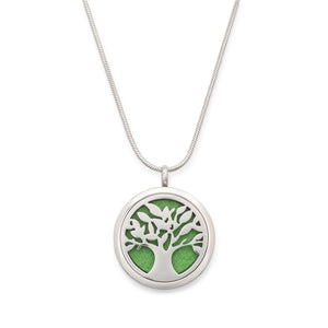 Essential Oil Tree of Life Cremation Pendant
