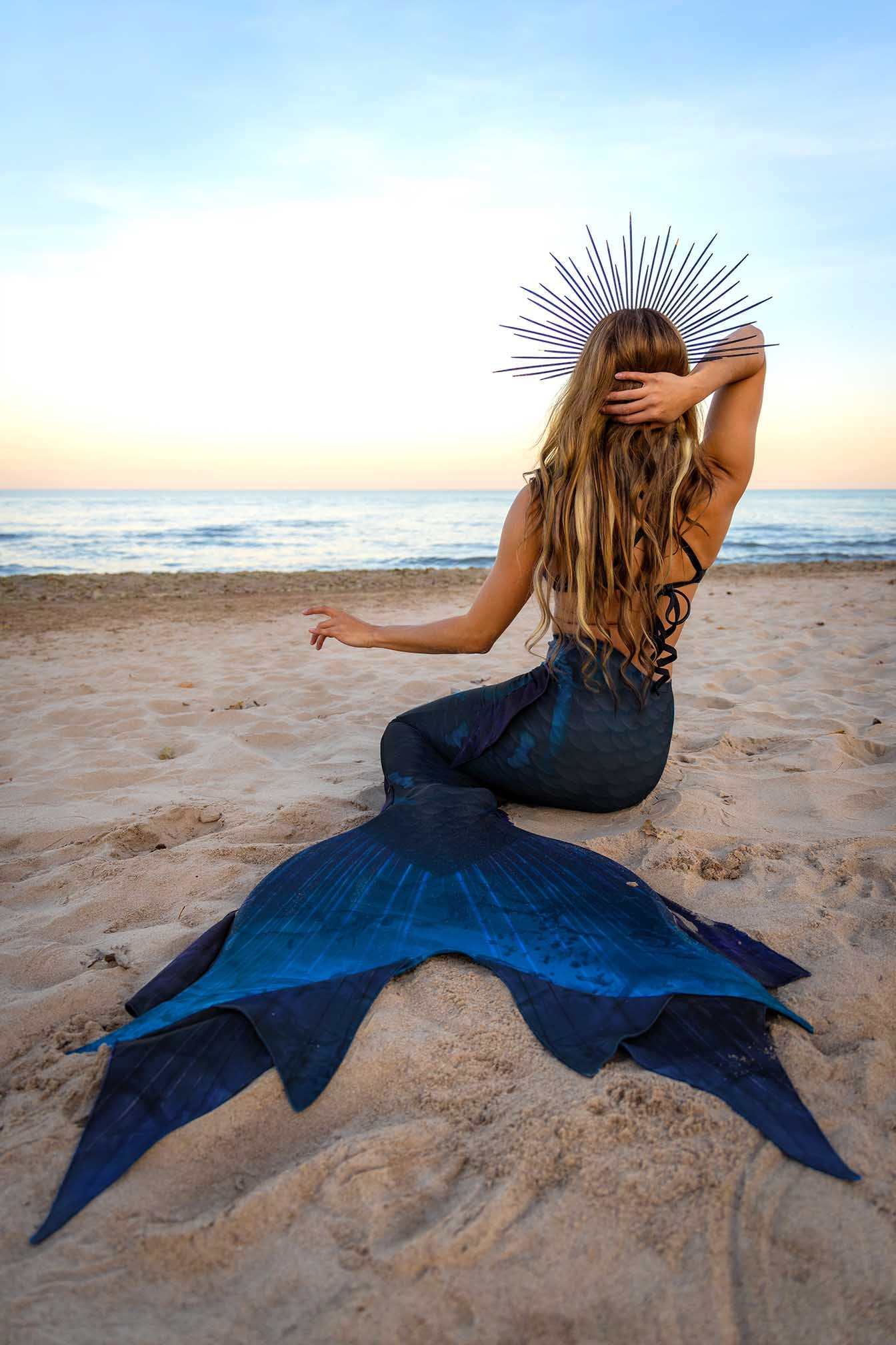 Black Magic Mermaid Tail - DiveTail by Cape Cali