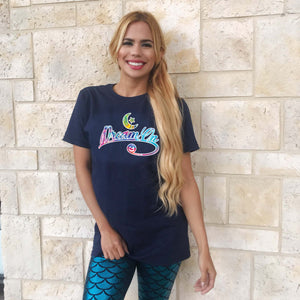 "Mermaid Elle ""Dream On"" Boyfriend Tee - Cape Cali"