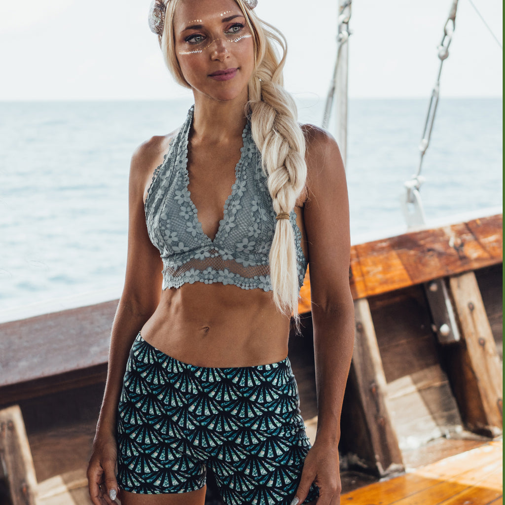 Signature CC Scale Pattern Shorts - Cape Cali