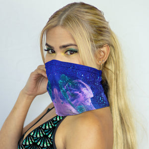 Mermaid Elle's Luminous Seas Neck Guard by Cape Cali