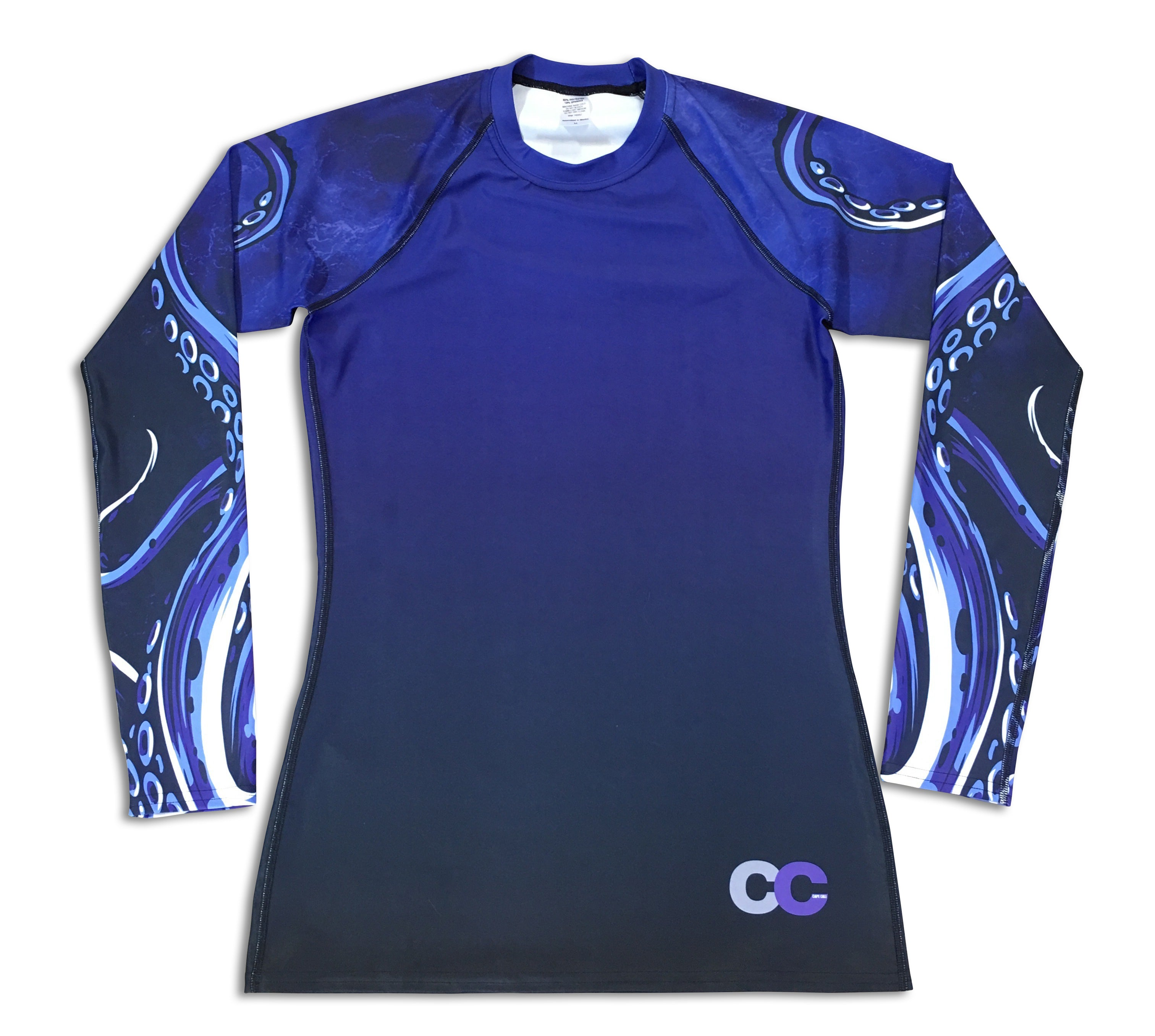 Octo Man - Men's Rash Guard - Cape Cali