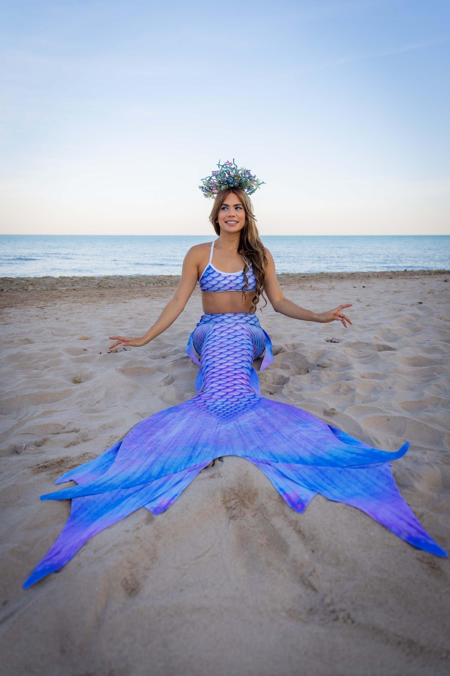 Opal Mermaid Tail - DiveTail by Cape Cali