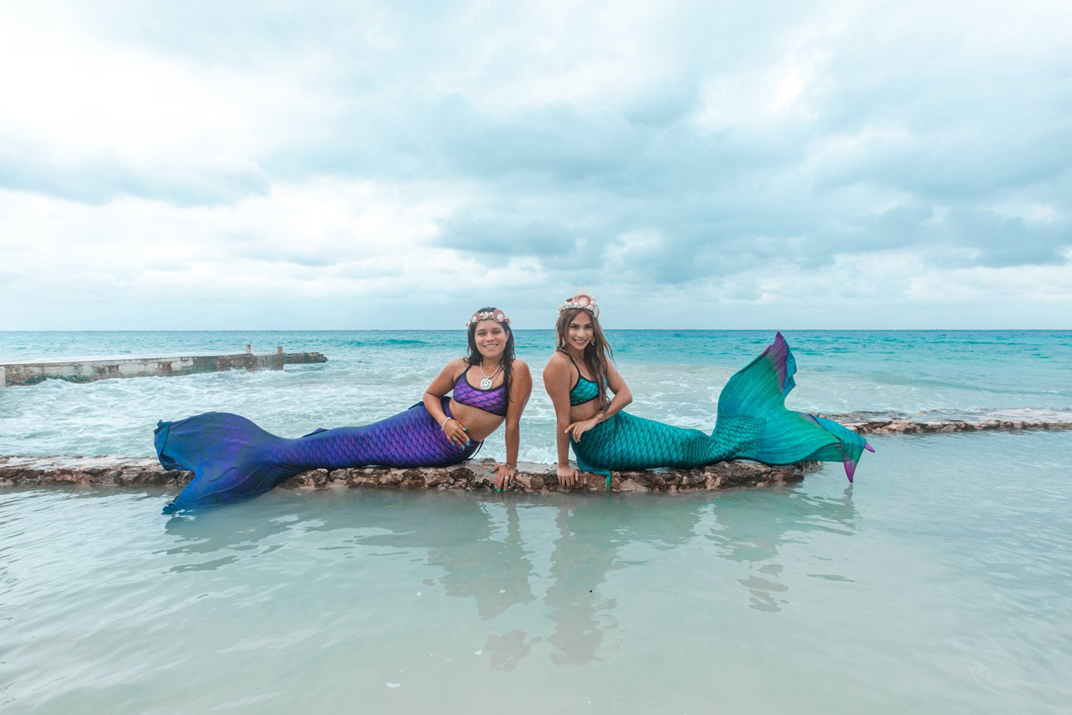 Passion Mermaid Tail - DiveTail by Cape Cali